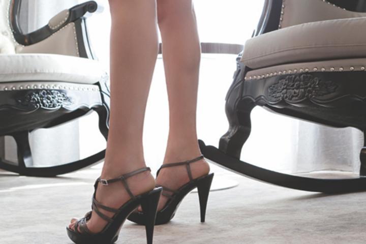 How to Walk in High Heels | Naughty LA